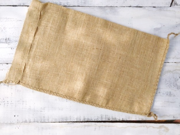 no sew burlap pillow bags