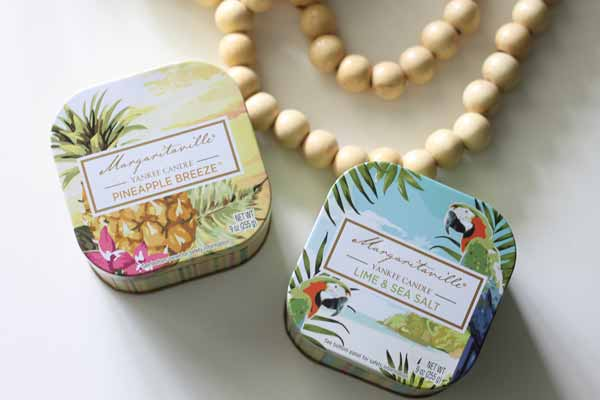 Margaritaville Collection by Yankee Candle (it's like bringing home the smell of a great beach vacation!)