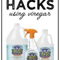 DIY hacks with vinegar