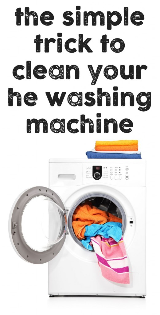 What a great tip on how to keep a clean washing machine.