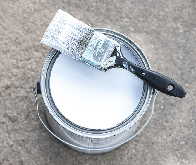 how to get paint out of carpet with vinegar