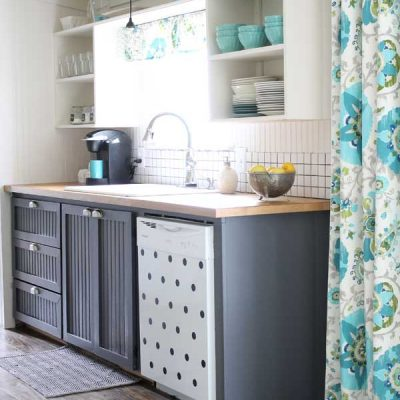 All Things Aqua Kitchen Collection