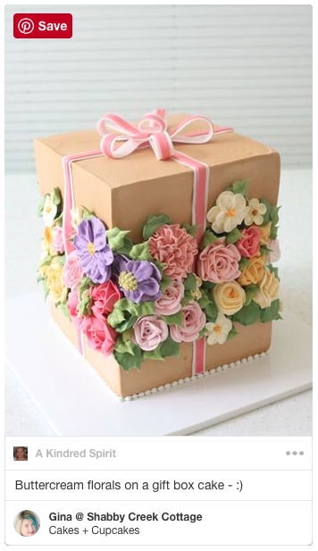 Love these creative cakes - this flower one is my favorite