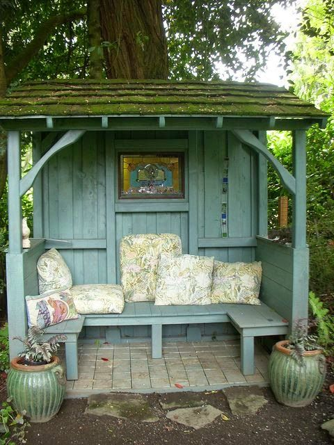Dreamy she-sheds - this one is open air!