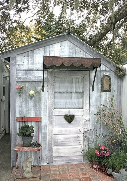 Cute she-sheds - love this one built for gardening