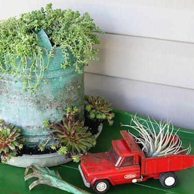 Repurposed farm equipment ideas