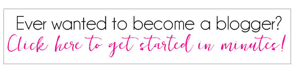become a blogger banner