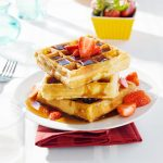 I'm definitely trying this - because can you ever really have too many waffle recipes?
