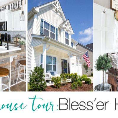 Farmhouse Home Tour: Bless'er House