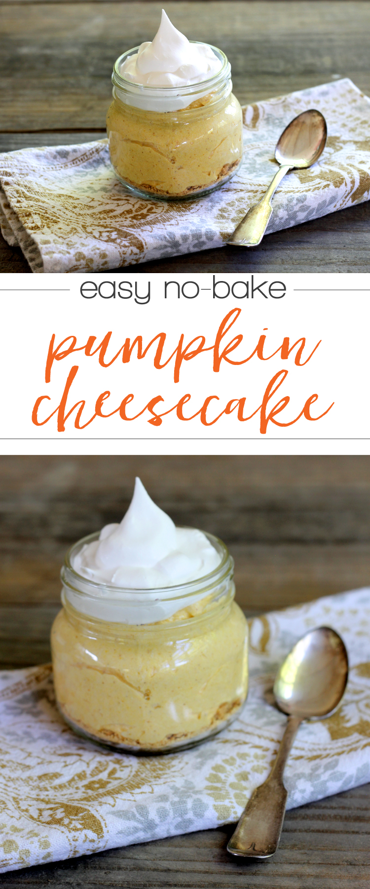 easy no bake pumpkin cheesecake recipe