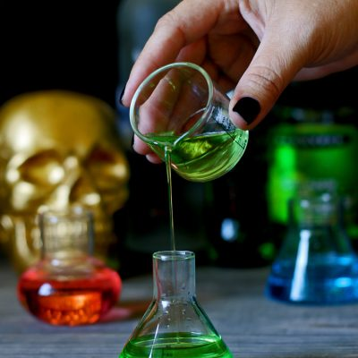 Stumbling Scientist Halloween Cocktail Recipe