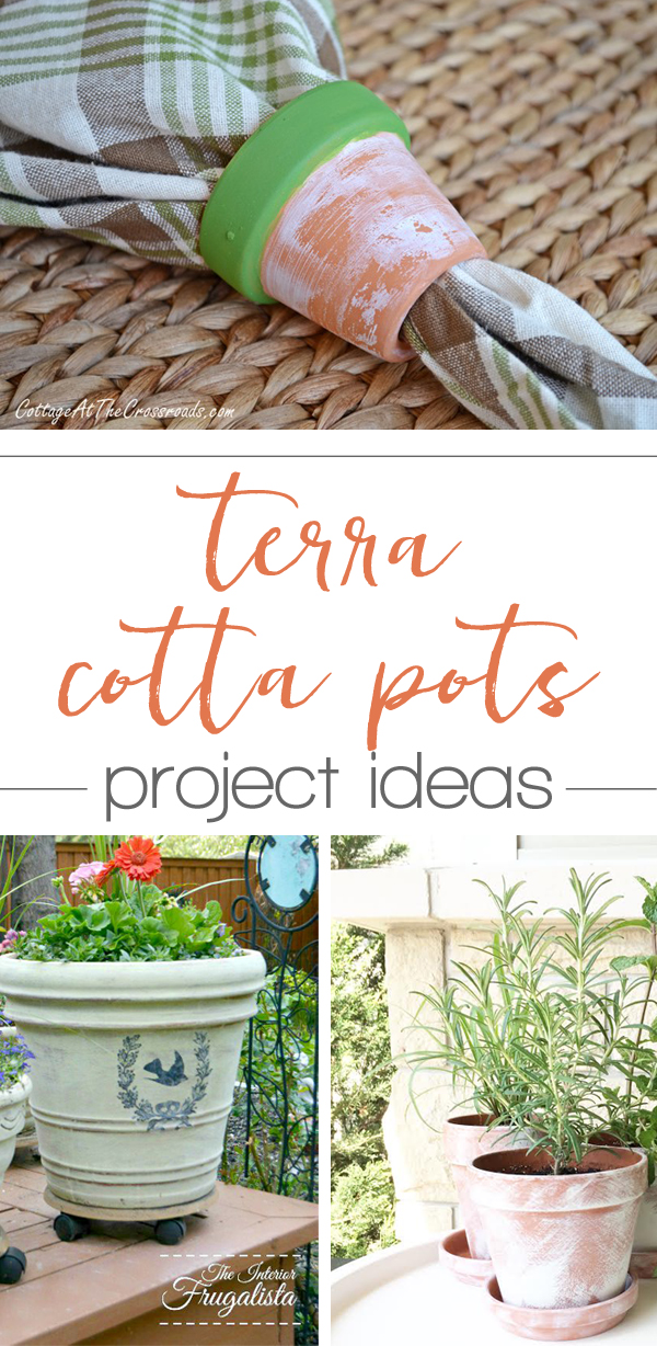 terra cotta pot project ideas - pinning for later