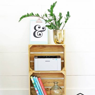 Wonderful ideas to repurpose wood crates