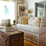 Couch made from an old crib - love this idea and all the other great ideas in this post, too!