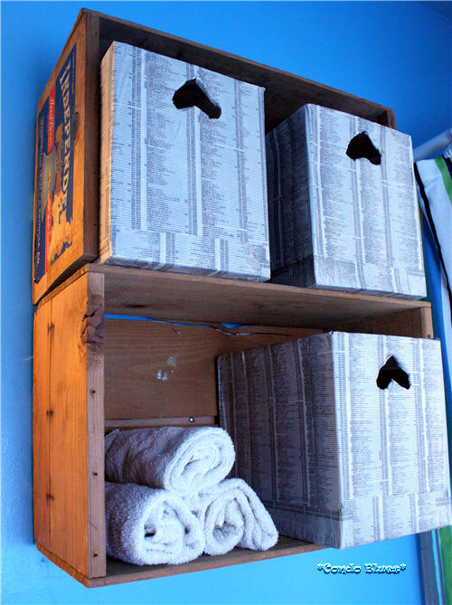 cute idea on how to repurpose old crates