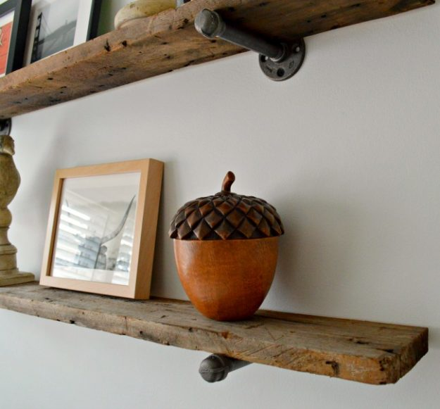 gorgeous idea on how to reuse barn wood