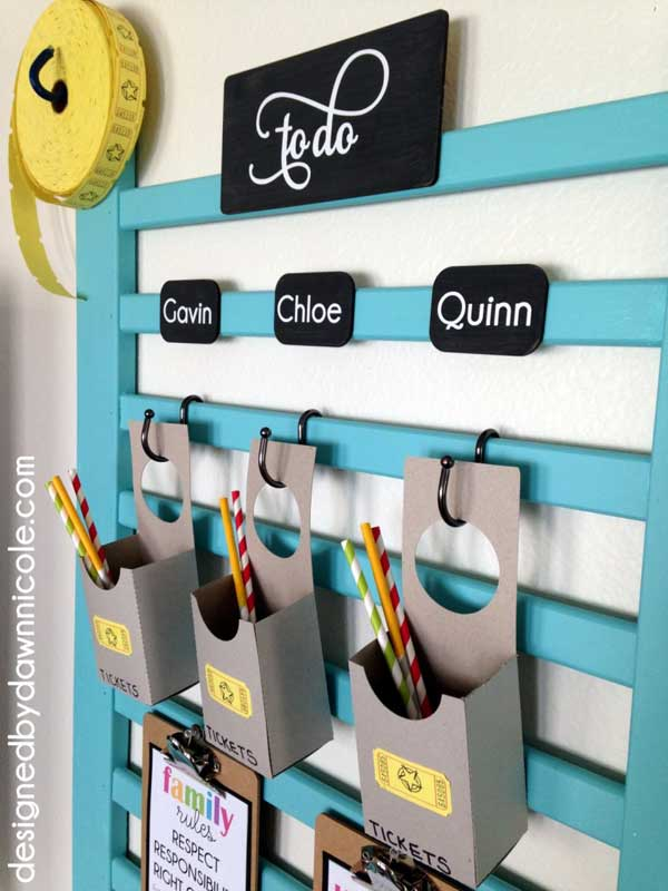 How to use old cribs: Memo board. Love this idea and all the others - but number 9 is my favorite!