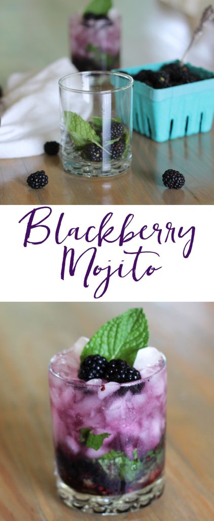 Blackberry mojito - this looks so good! Blackberries are my favorite, so this one could be dangerous, but I'm willing to risk it :)