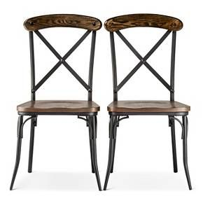 Farmhouse dining chairs on a budget