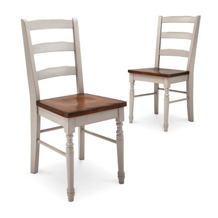 great options for farmhouse dining chairs on a budget - all of these chairs are under $100 each. Nice!