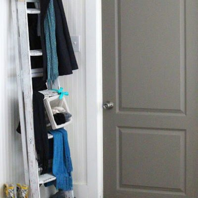 Ideas for repurposing old ladders