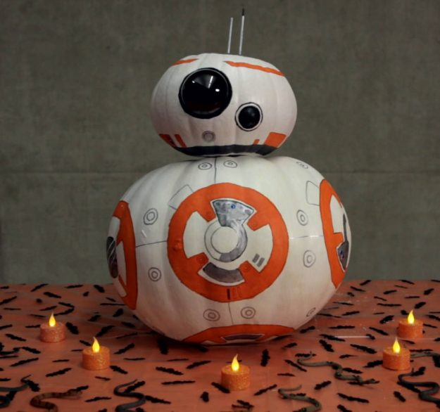 Creative Painted Pumpkins: Disney Inspired Pumpkins To Celebrate Your Favorite Film
