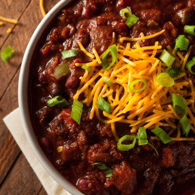 Chili recipe – the quick homemade version