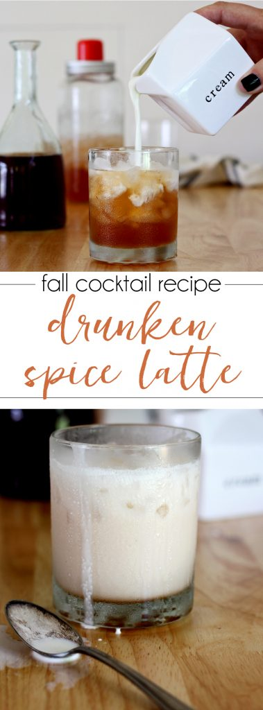 Drunken Spice Latte - it's the boozy cousin of the PSL. Gotta try this one!