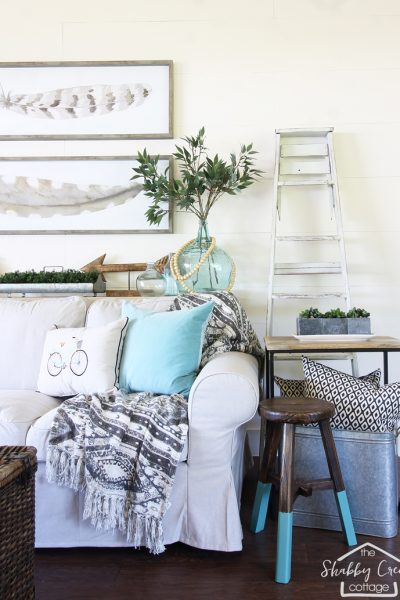 Farmhouse style she shed tour