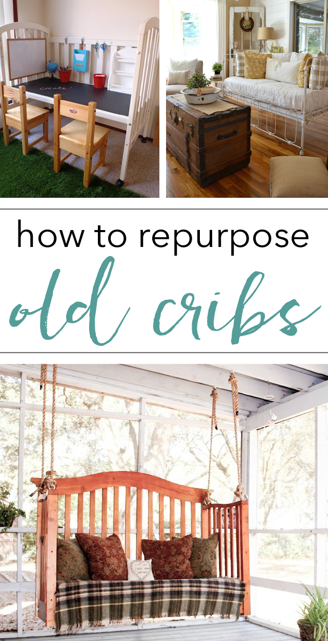 how to repurpose old cribs - don't toss it, repurpose it with one of these beautiful ideas