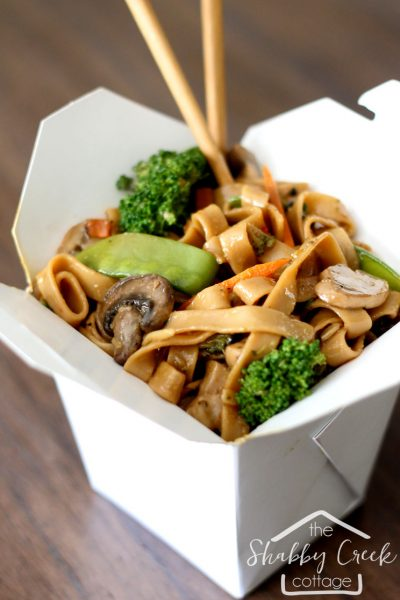 Better-Than-Takeout Veggie Lo Mein Recipe