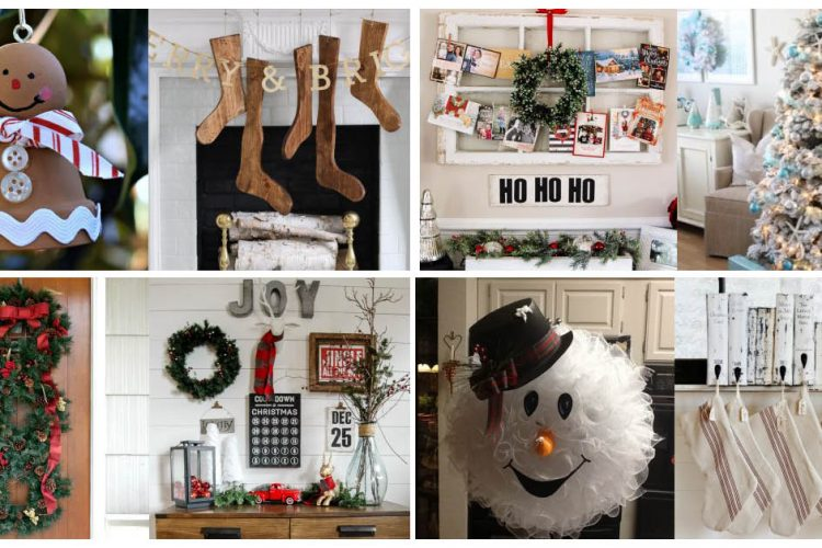 Love these Christmas decorating ideas - so much gorgeous inspiration
