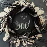 Fun Fall Halloween Wreath