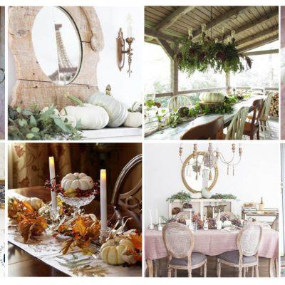 250+ Beautiful Fall Decorating Ideas
