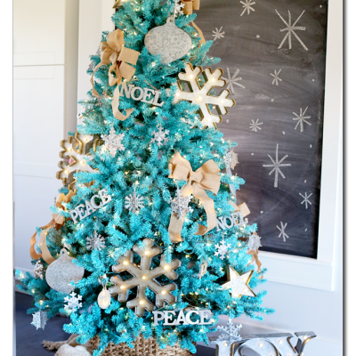 Blogger's Best: Christmas tree decorating ideas