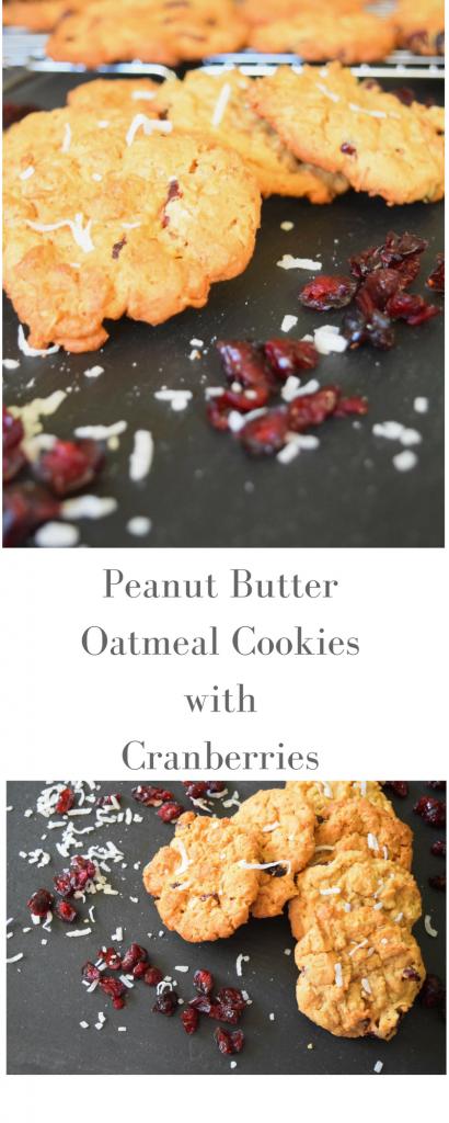 Peanut Butter Oatmeal Cookies |Designers Sweet Spot|www.designerssweetspot.com