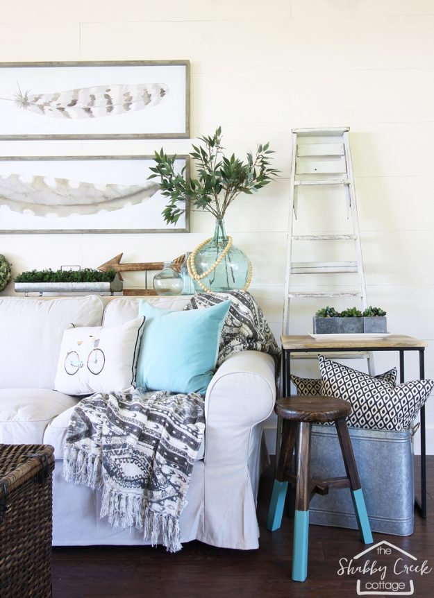 White Paint Colors - this one is Steam by Benjamin Moore