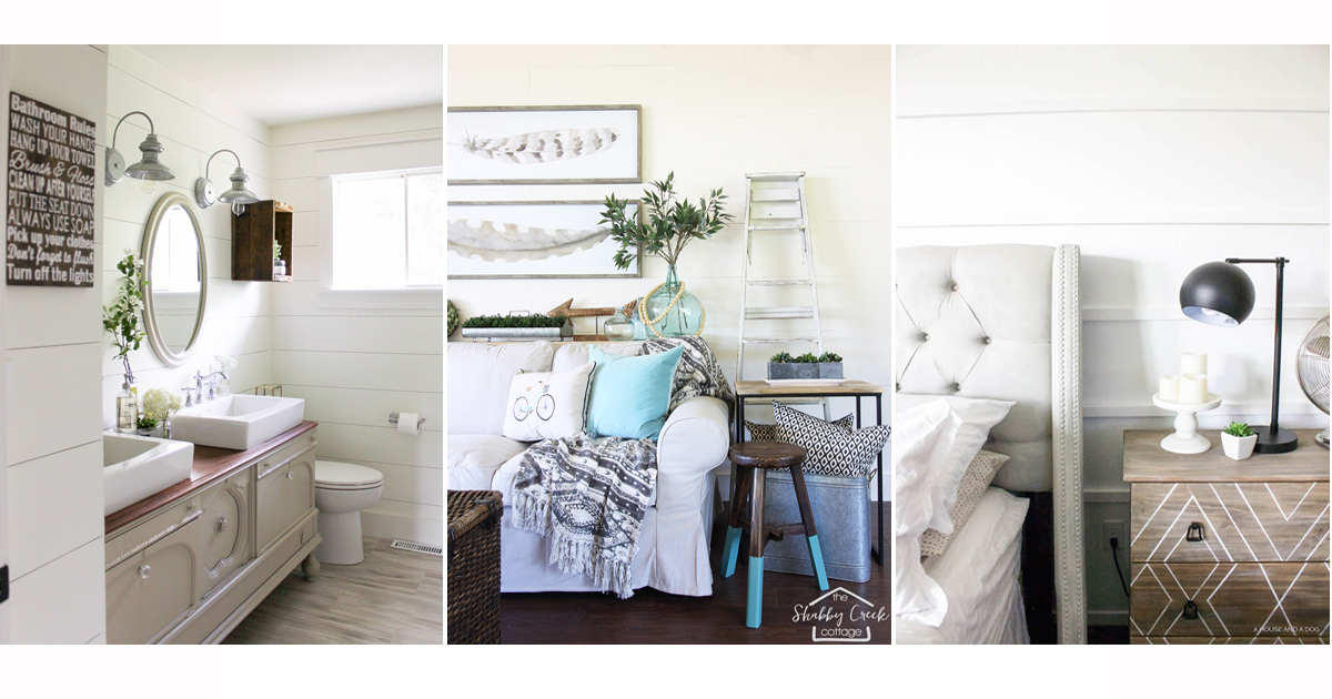 White Paint Colors: 20 spaces that get white paint right