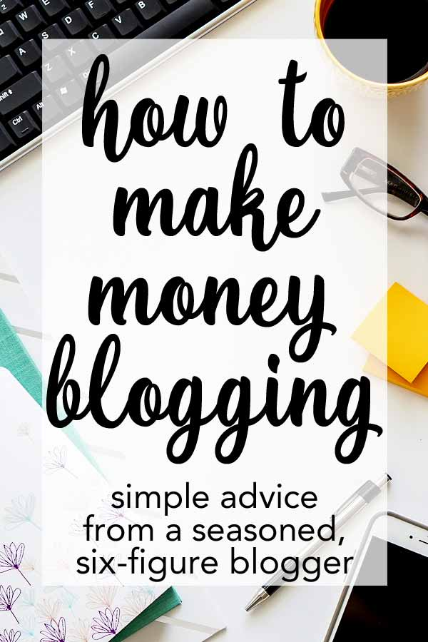 How to make money blogging - so many great tips all in one place. This girl knows her stuff!