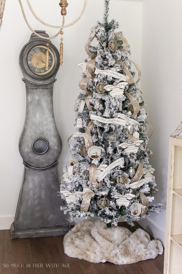 Christmas Tree Decorating Ideas: Print Free Vintage Images On Paper To  Decorate The Tree