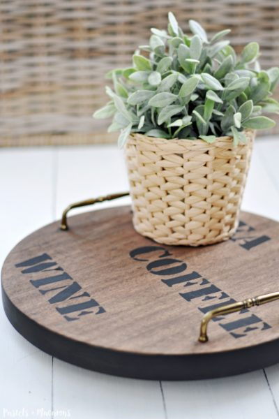 Rustic Farmhouse Style Lazy Susan