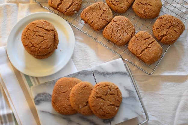 Molasses cookies are fun to make with your kids! The Shabby Creek Cottage www.theshabbbycreekcottage.com