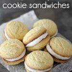 No-fail cake batter cookie sandwiches - so easy and so delicious!