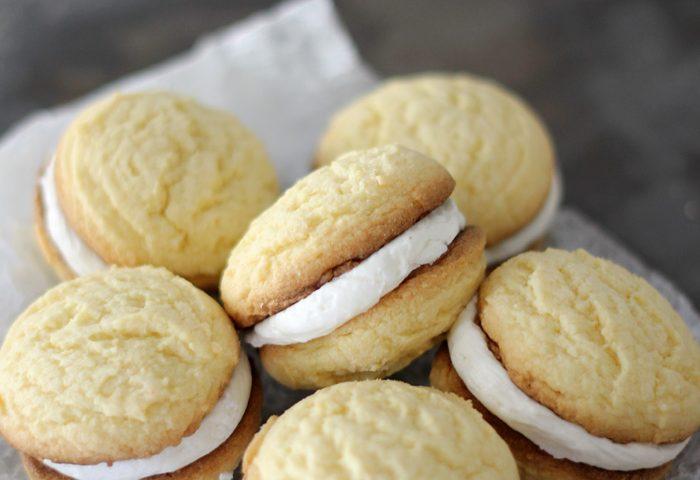 No-fail Cake Batter Cookie Sandwiches