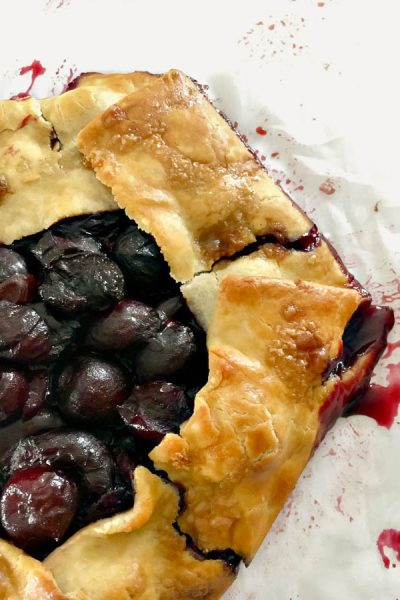 Sweet Cherry Galette