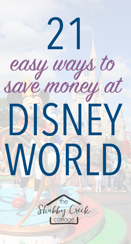 21 simple tips and tricks to help you save money at Disney World on your dream vacation