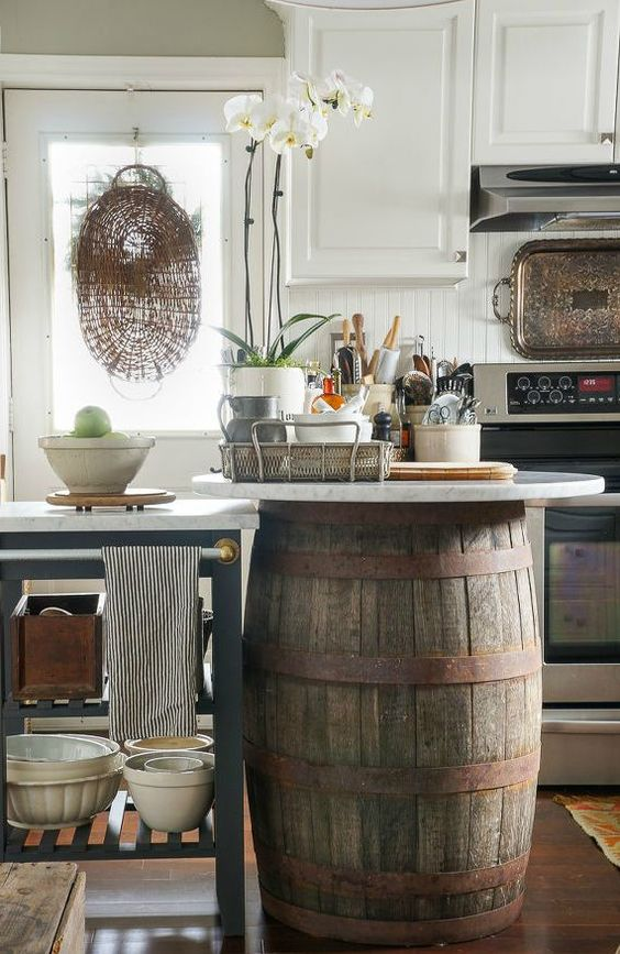 Charmant Brilliant Ideas For A Unique Kitchen Island