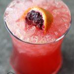 Blood Oranges Cocktail Recipe: Blood Oranges on the Beach