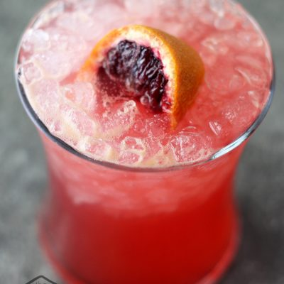 Blood Oranges on the Beach Cocktail Recipe