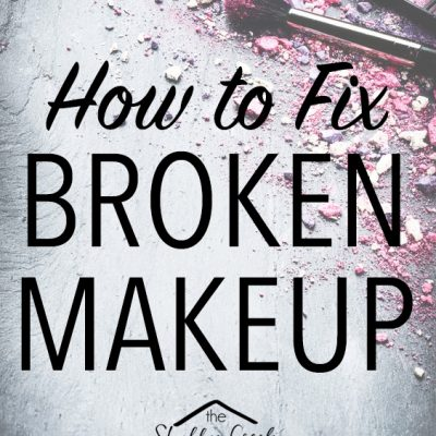 How to Easily Fix Broken Make-Up
